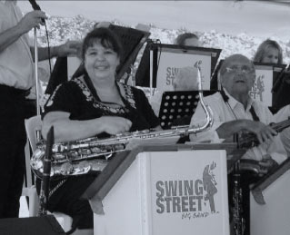 Lori Martin with Swing Street Big Band